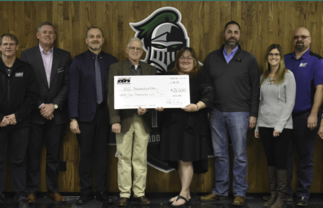 SCCC Receives Grant from Black Hills Energy