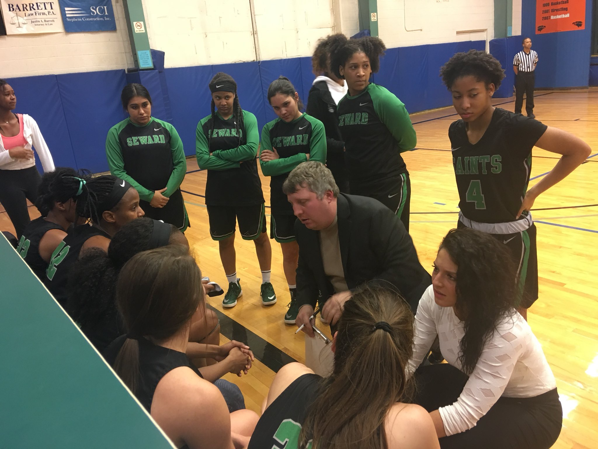Lady Saints Survive Scare at Colby