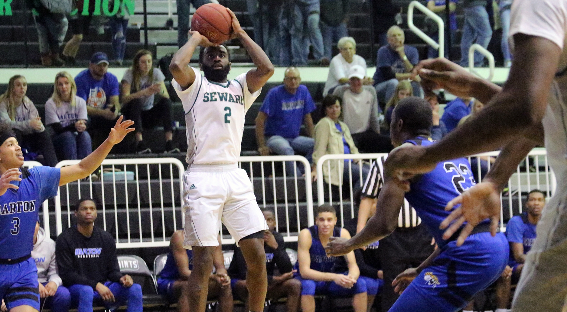 Saints Bounce Back in Rout of Cougars