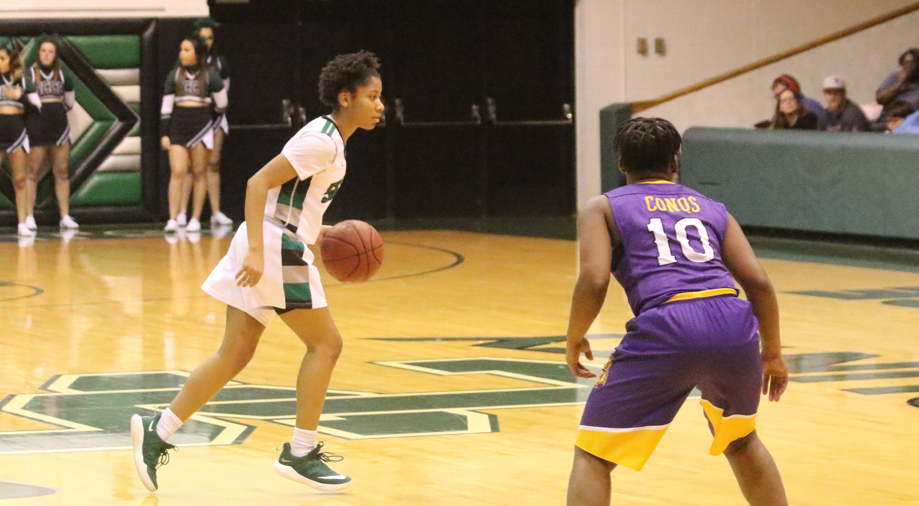 Lady Saints Come From Behind, Win 10th Straight
