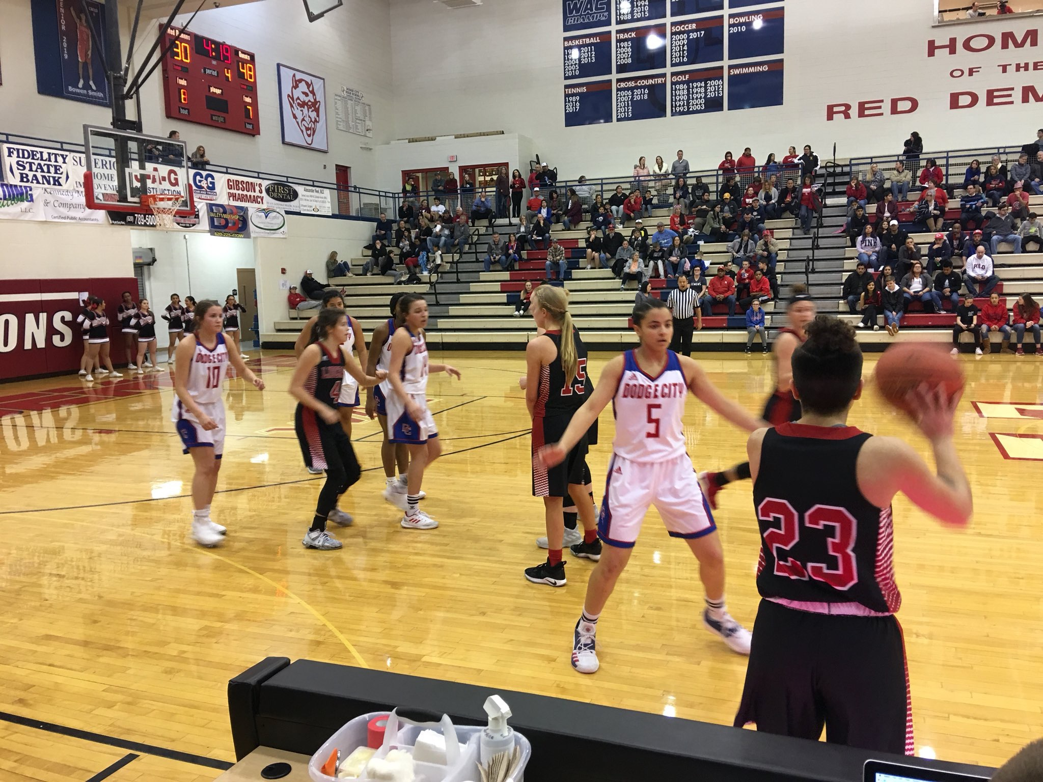 Lady Redskins Win Third Straight WAC Title