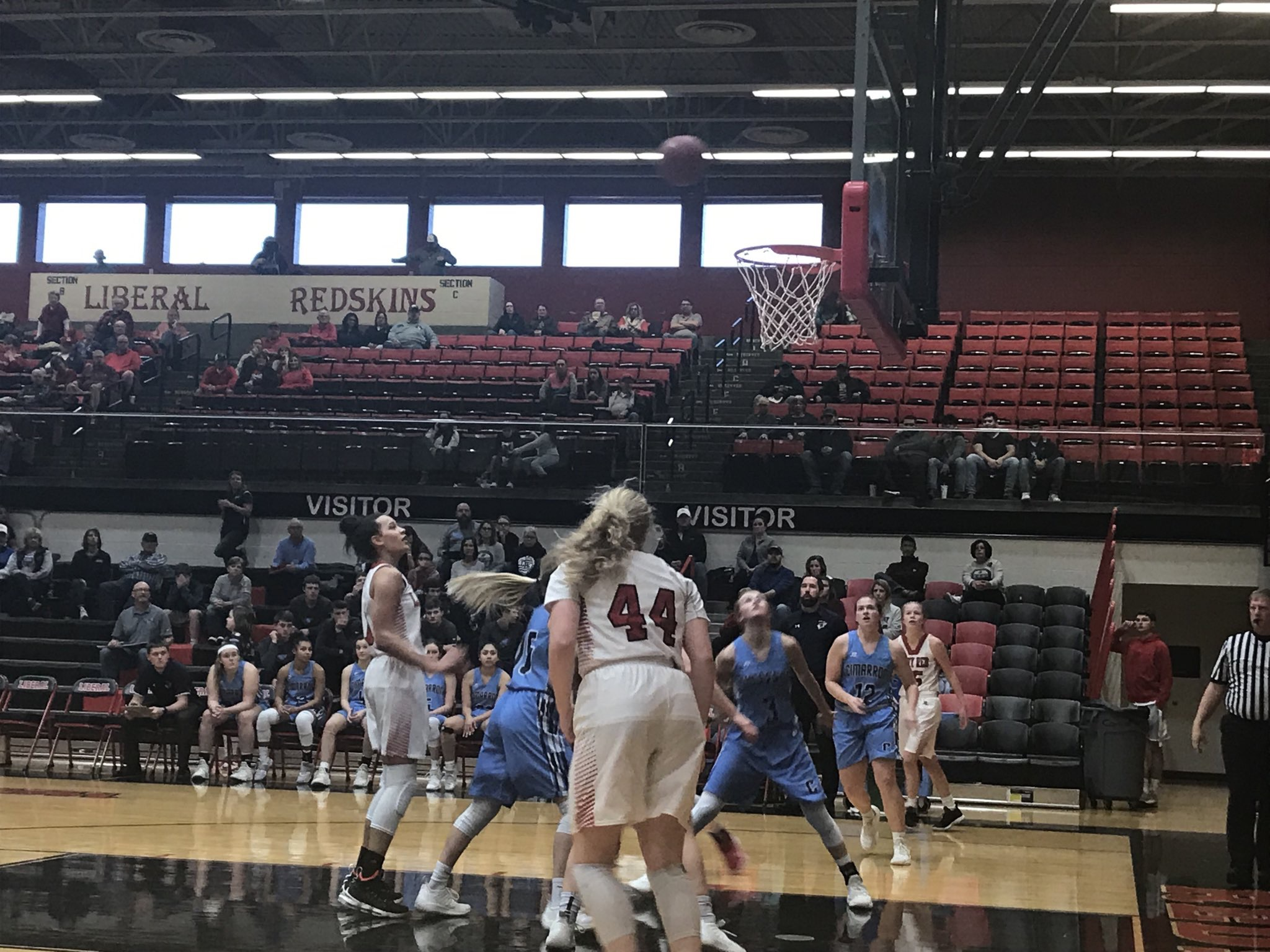 Liberal Finds Another Weapon in Win Over Cimarron