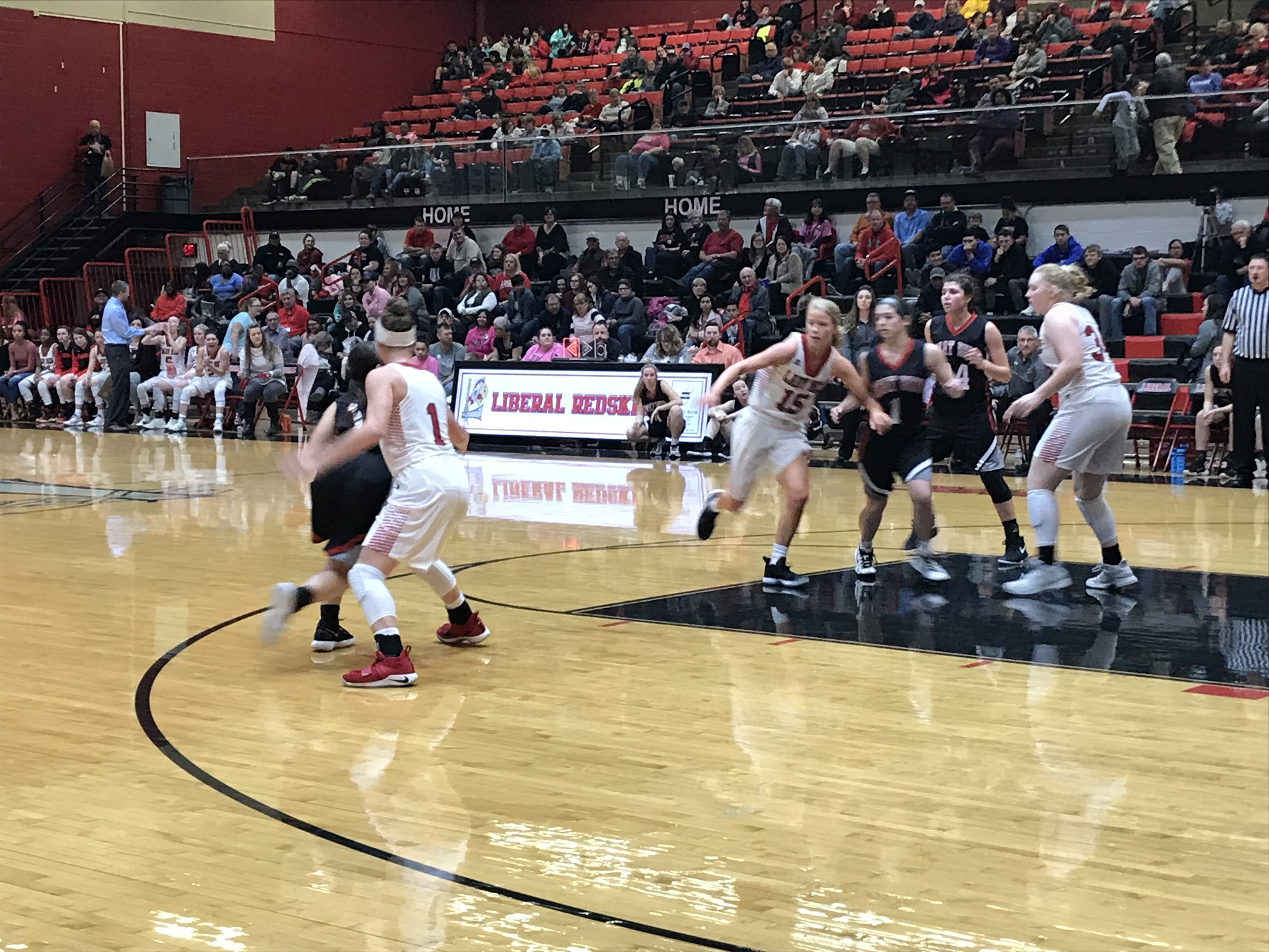 Lady Redskins Bring the Homecoming Hammer