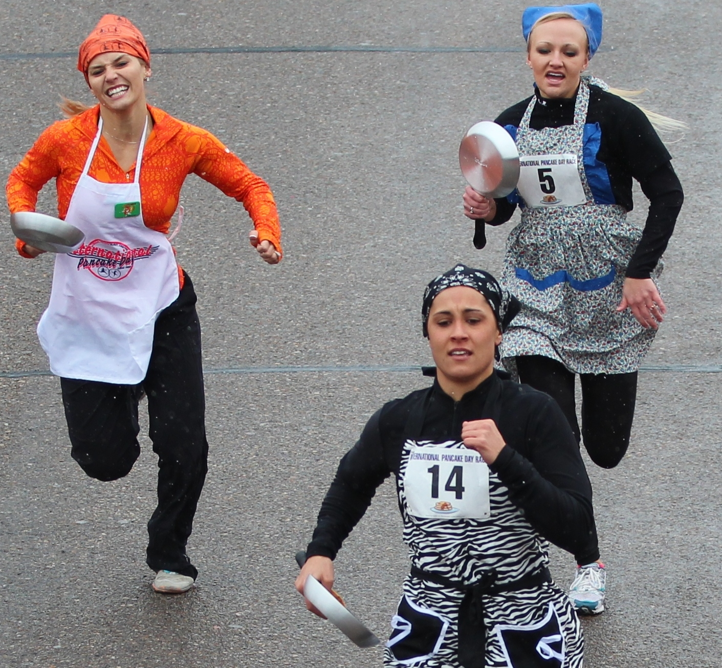 Pancake Day Race Entry Update as of Feb. 14
