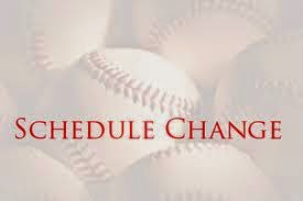 Saints Baseball, Softball Games Rescheduled