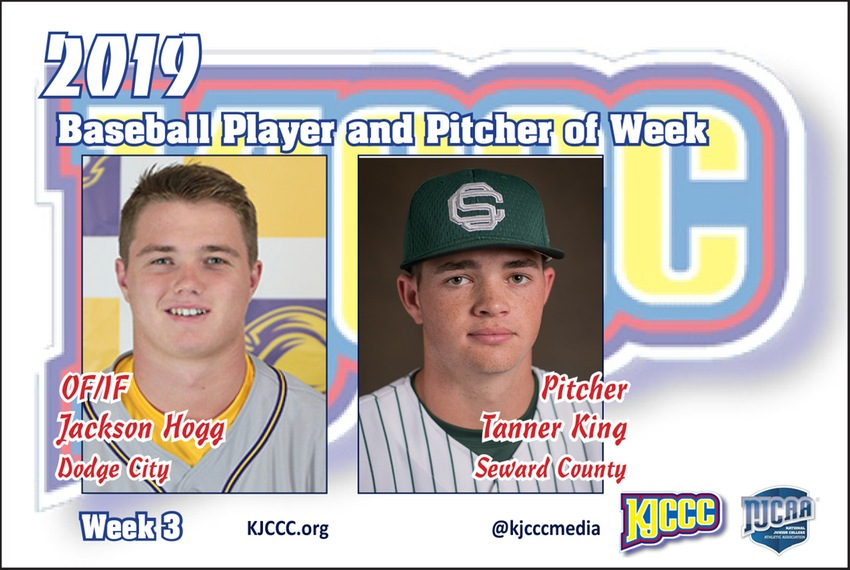 Seward's King is Pitcher of the Week