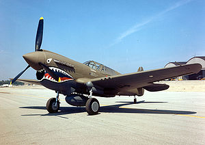 P40 Warhawk Added to Wings of Freedom Tour