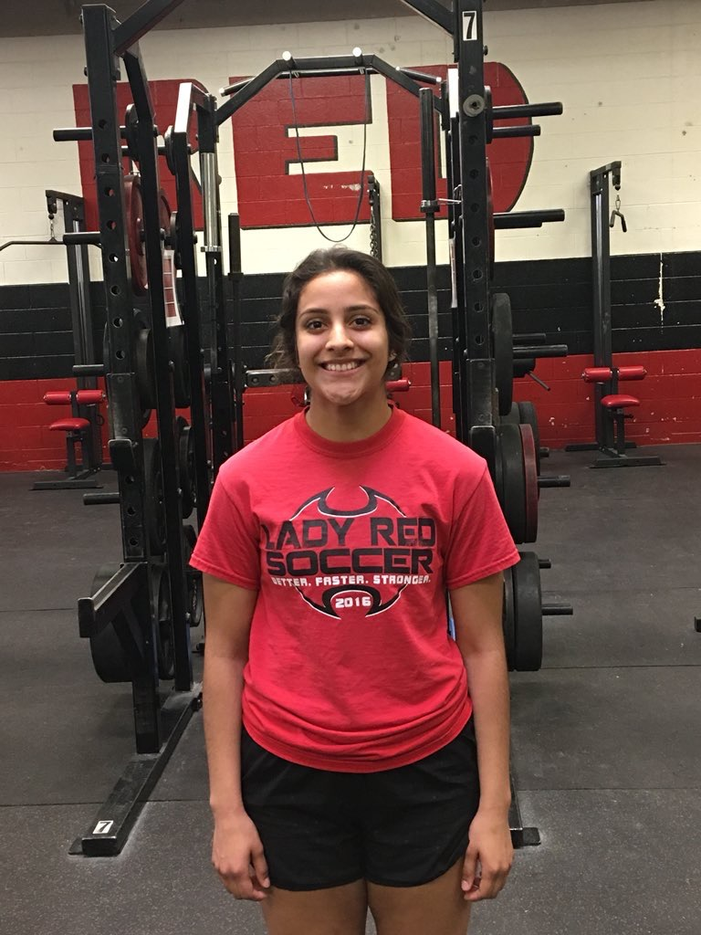 Gisselle Melendez is Hay Rice and Associates Athlete of the Week
