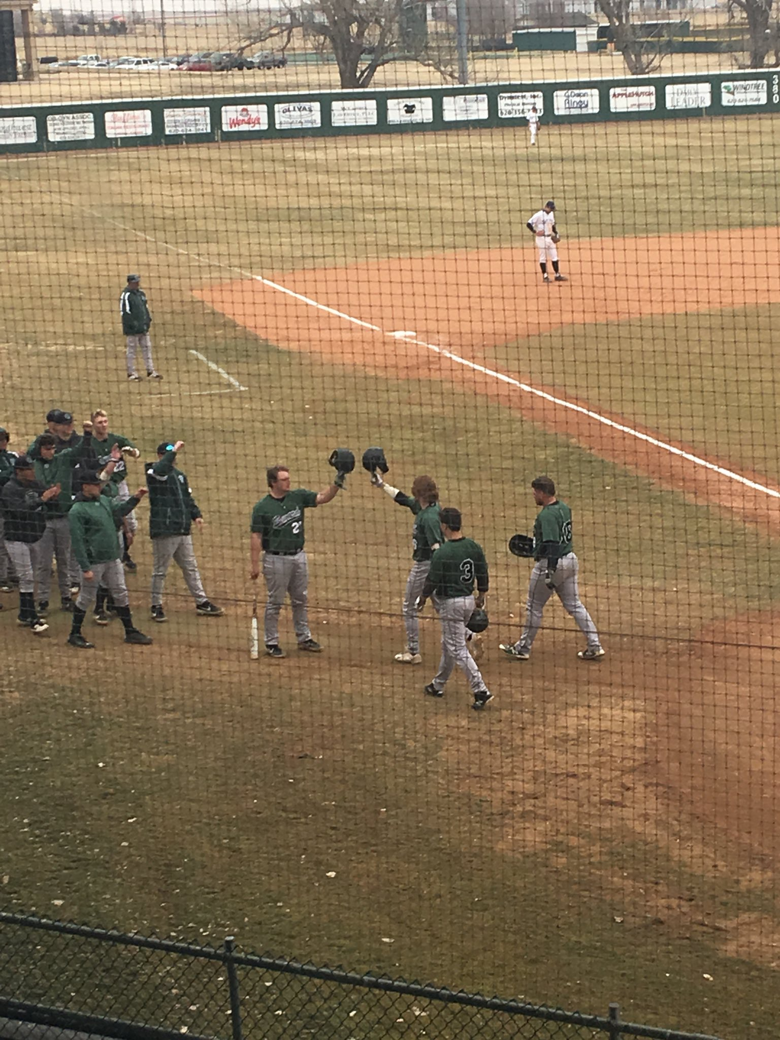 Saints Break Out the Bats in Game Two of Colby Split