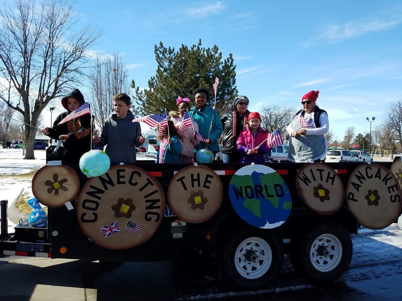 Rotary Club Pancake Day Parade Winners
