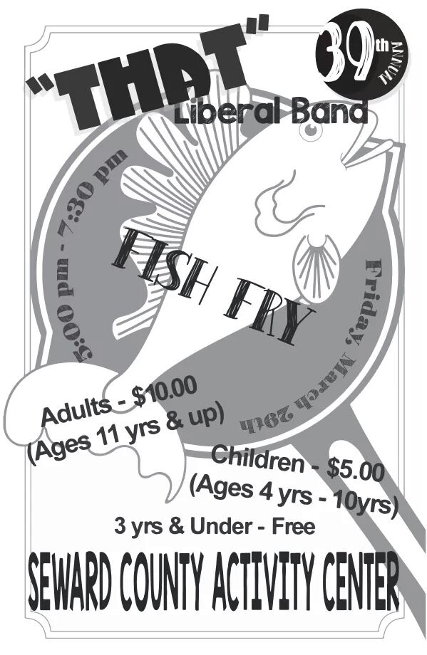 """That Liberal Band"" to Host Annual Fish Fry"
