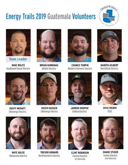 Electric Cooperatives of Oklahoma Selects TCEC's Kyle Weber as Part of Team