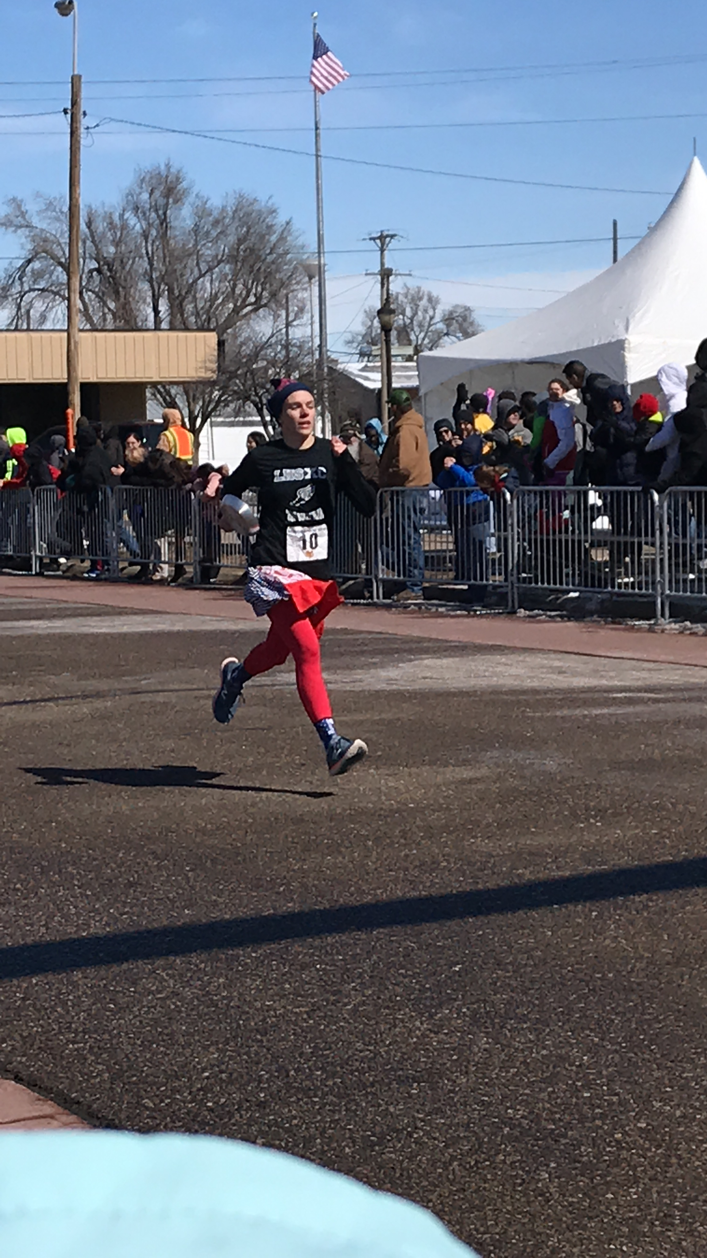 Lapinski Wins her Second Pancake Day Race in Two Years, Claims International Title