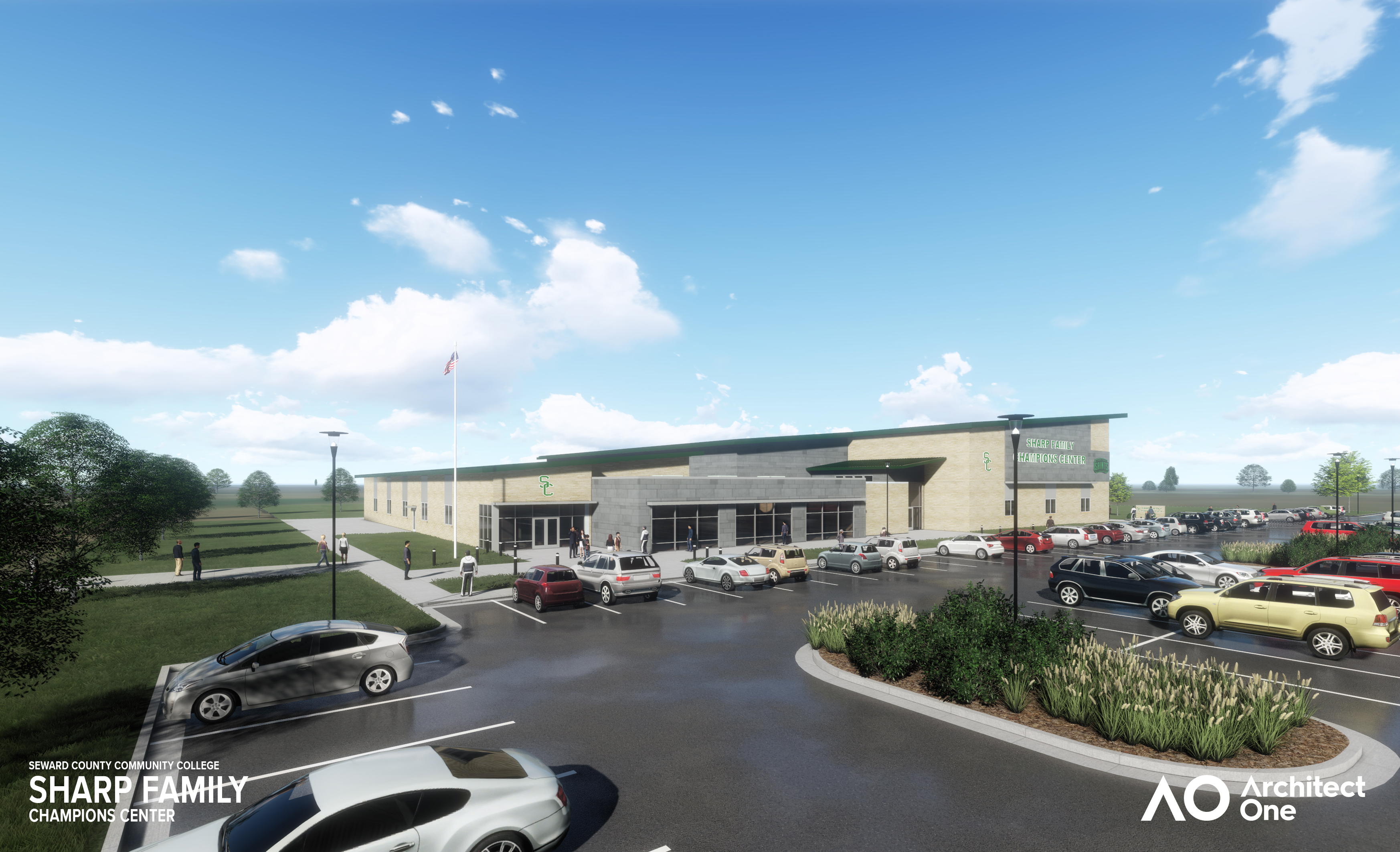 SCCC Board Approves Start of Construction for Sharp Family Champions Center