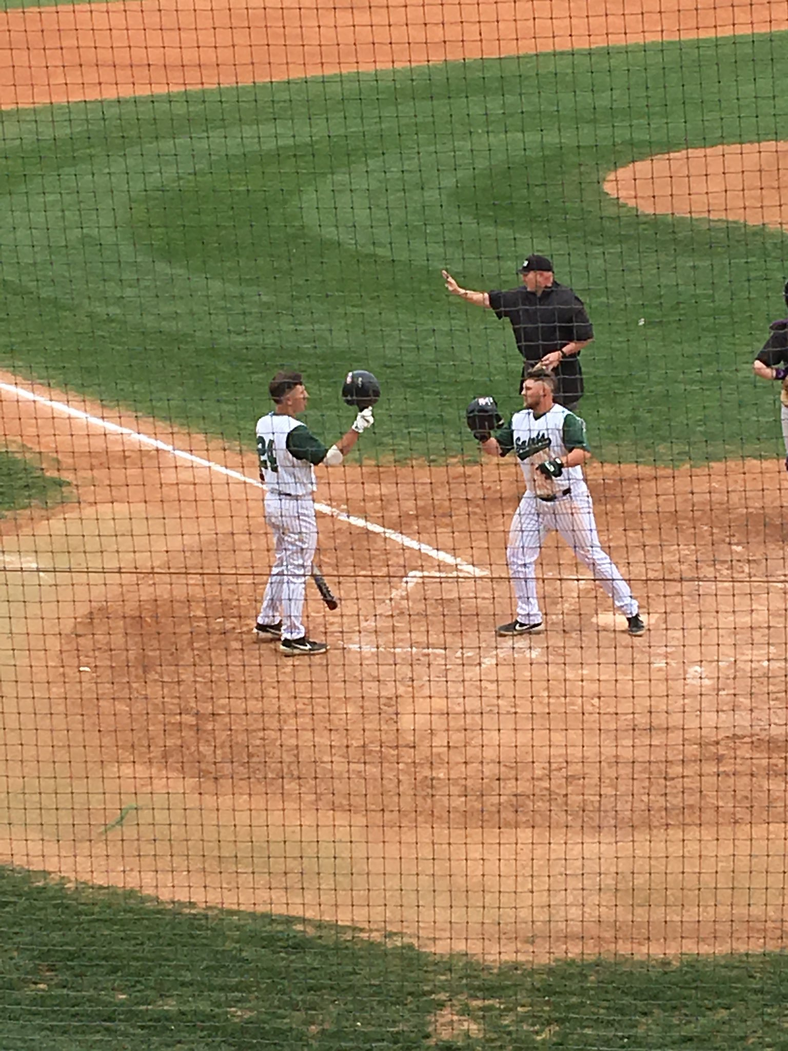 Saints Move into Virtual Tie for First with Sweep Over Dodge City
