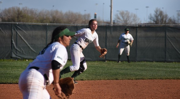 Barton Sweeps Seward Softball