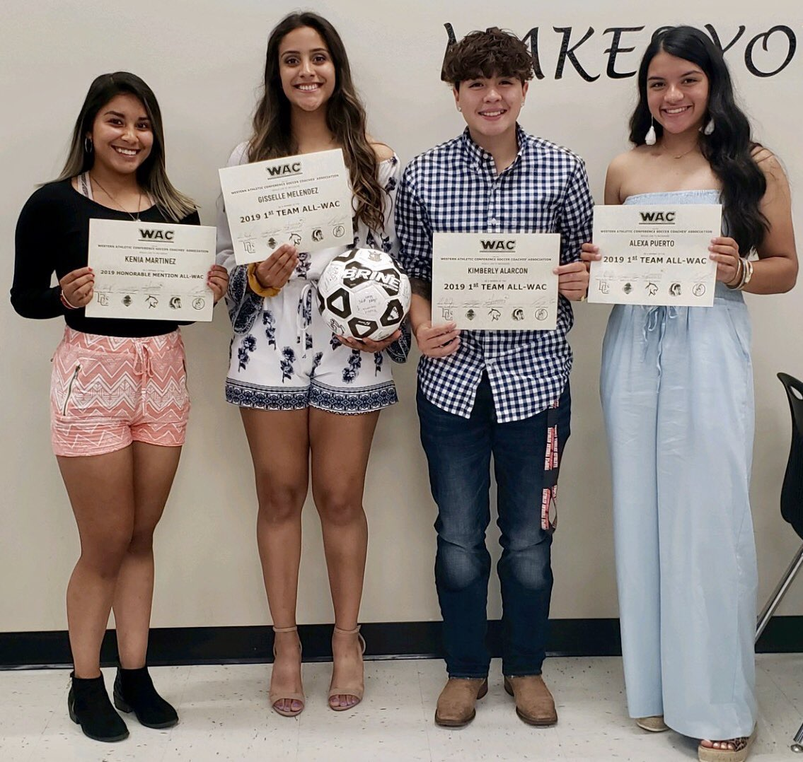 Alarcon, Melendez, and Puerto are 1st Team All WAC