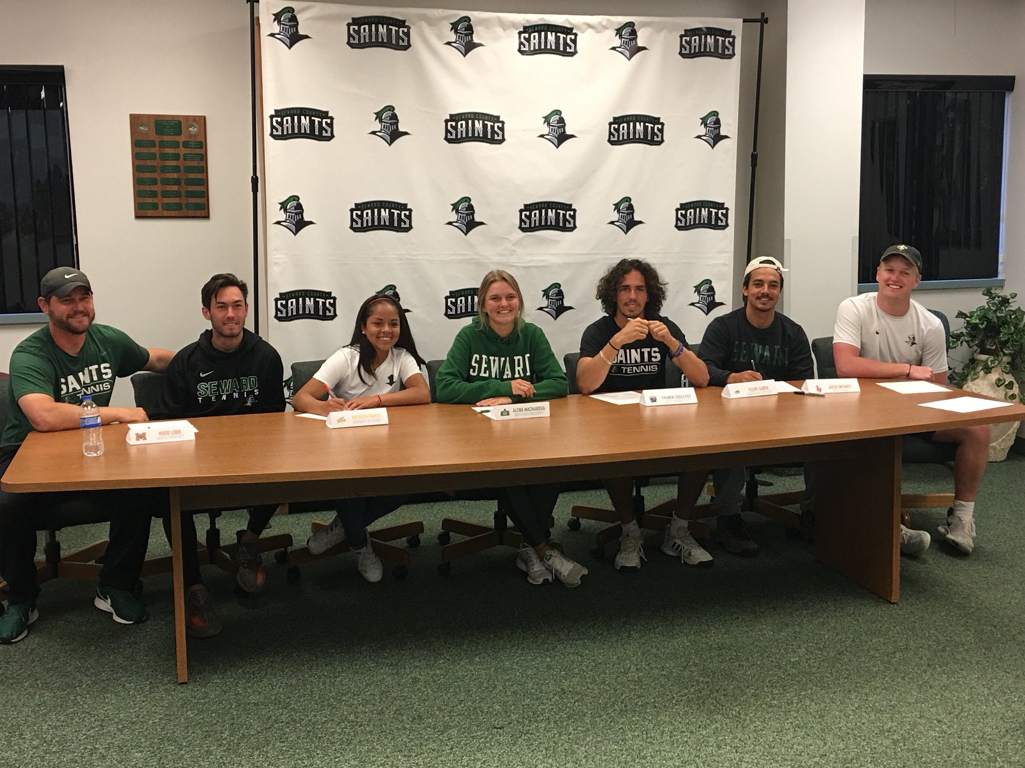 SCCC Tennis Players Continue to Four Year Schools