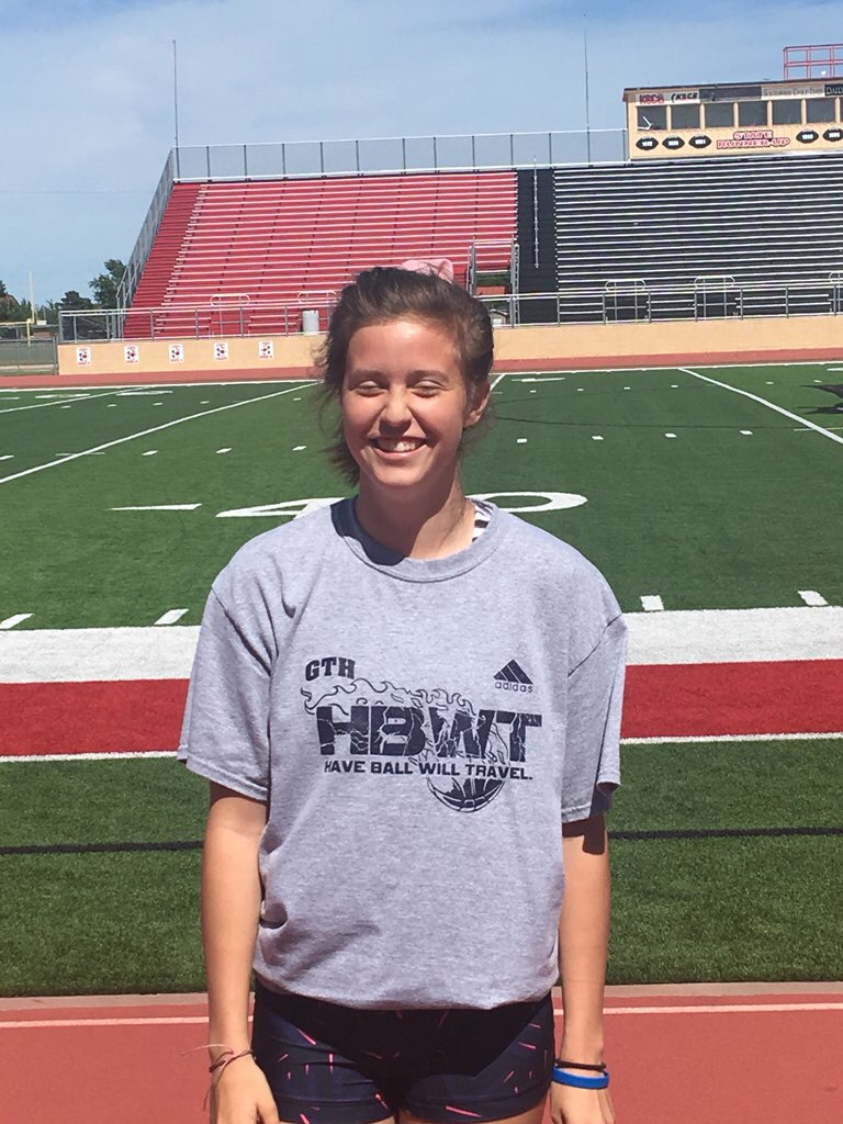 Audrey Gilmore is Hay Rice and Associates Athlete of the Week