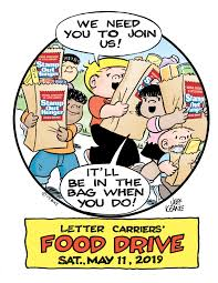 """""""Stamp Out"""" Hunger Food Drive Saturday May 11, 2019"""