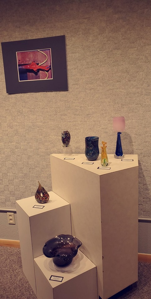 Baker Arts to Host Gathered Glass Reception