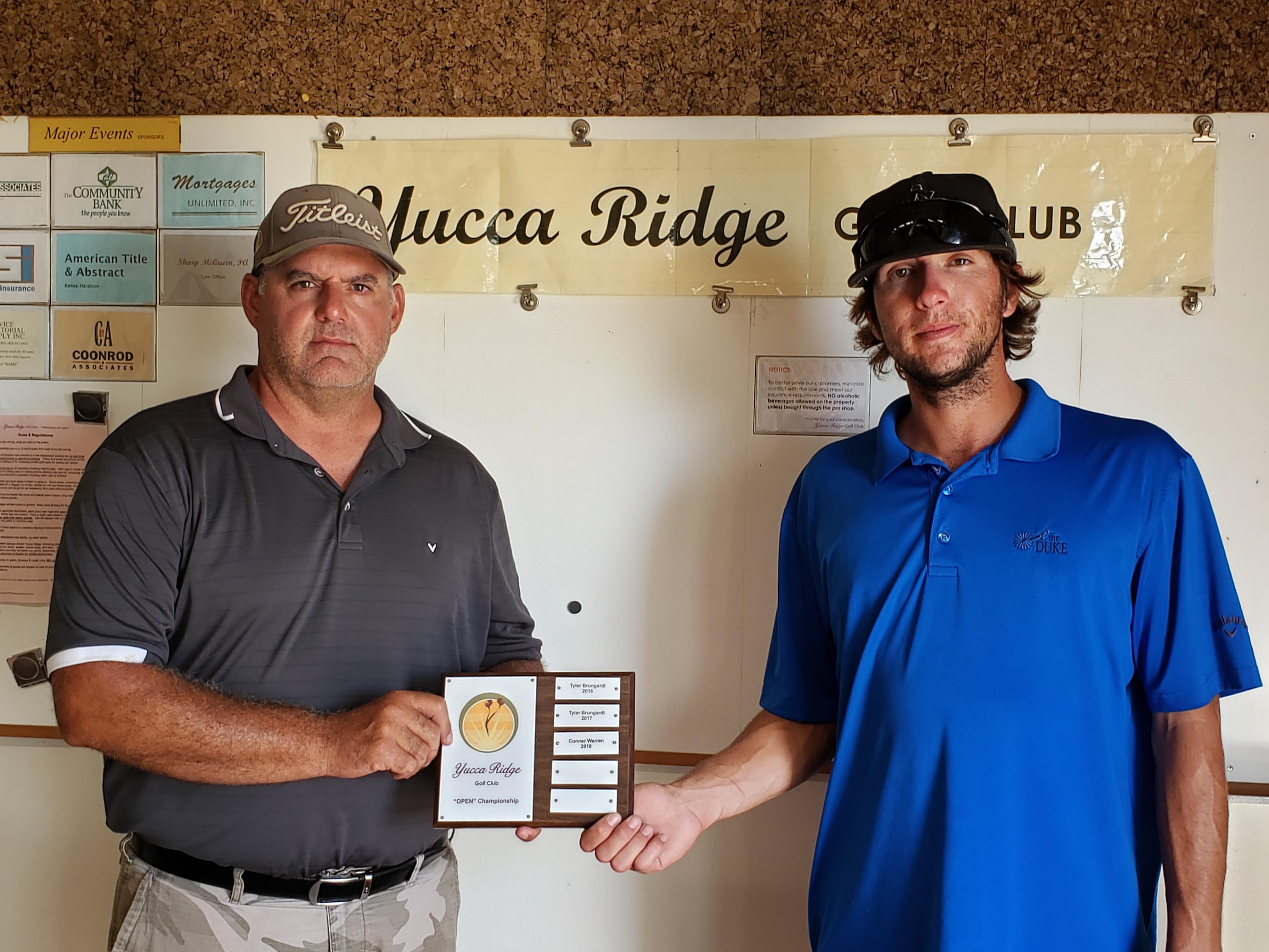 Conner Warren Wins Yucca Ridge Title