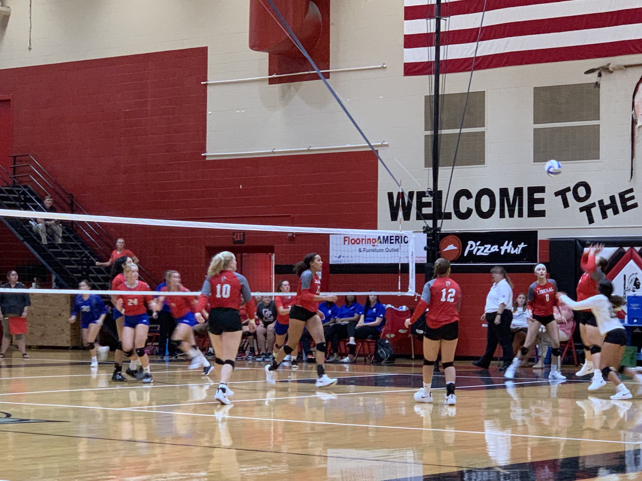 Liberal Spikers Rally to Defeat Dodge City