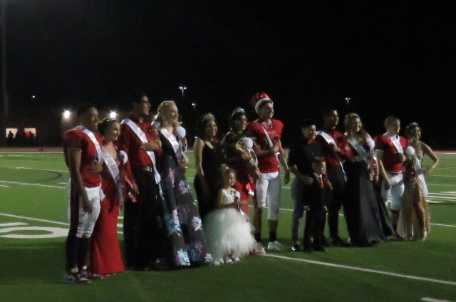 Hyde King and Zuniga Queen On Homecoming