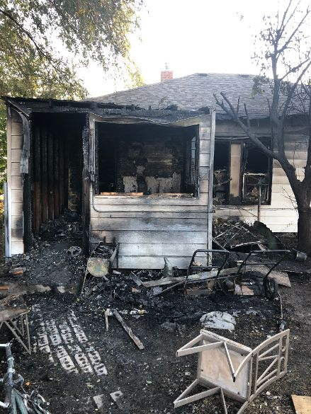 Guymon Firefighters and Police Officers Save Woman In House Fire