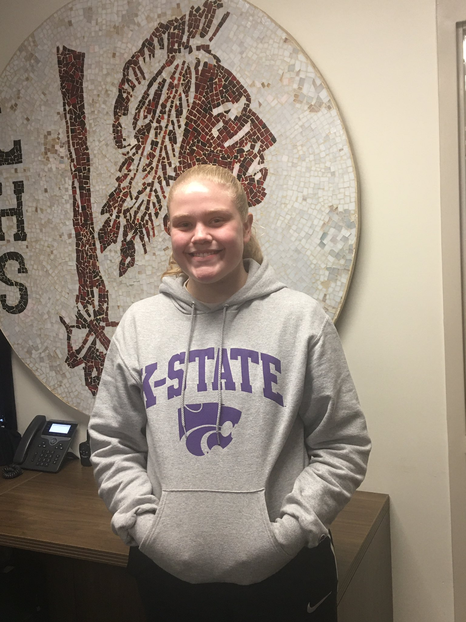 Aubrey Warden is Hay Rice and Associates Athlete of the Week
