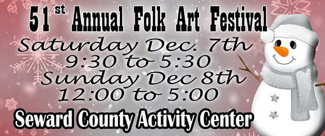 Folk Arts Festival this Weekend at the Seward County Activity Center