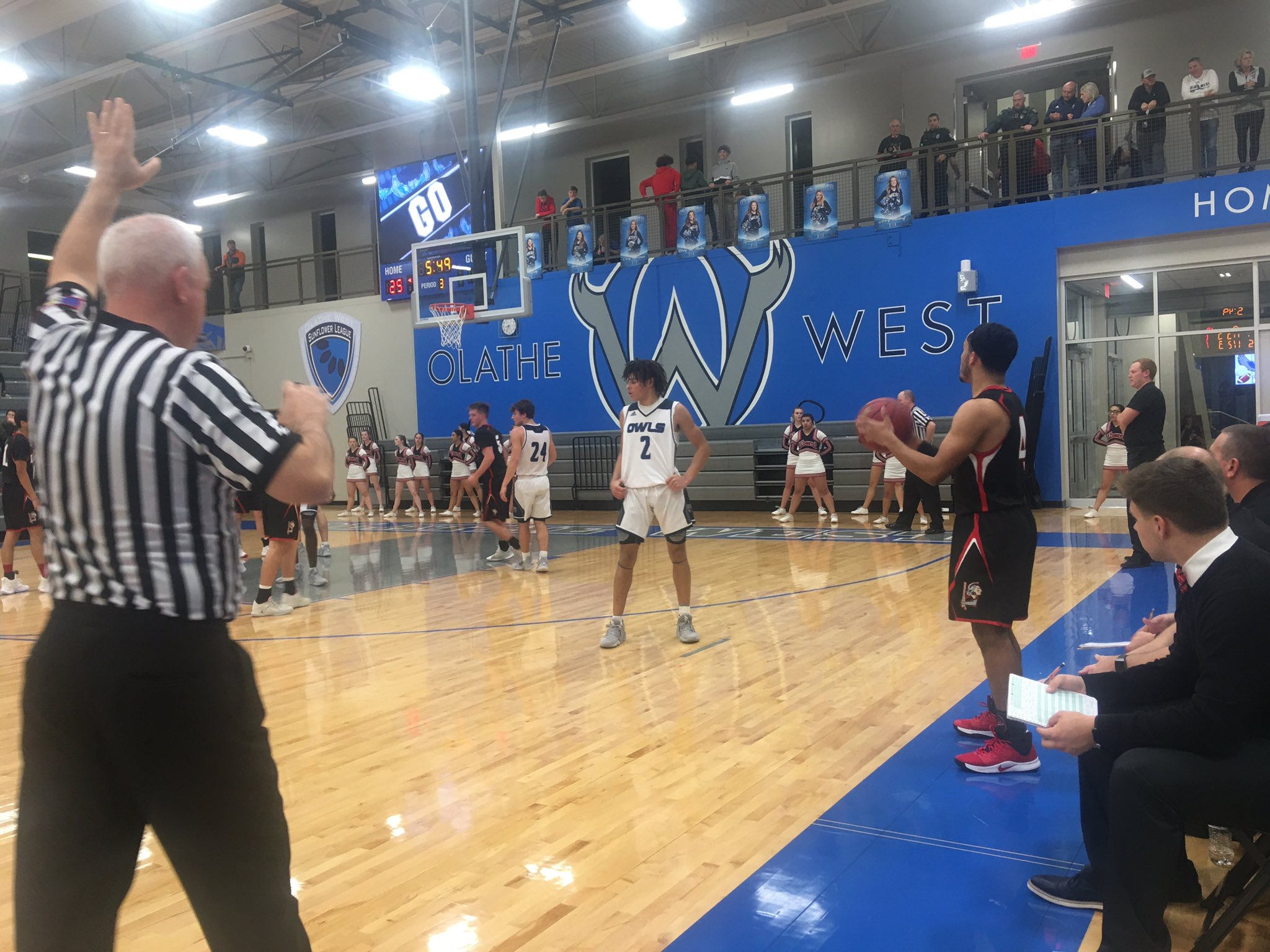 Olathe West's Onslaught Downs Liberal