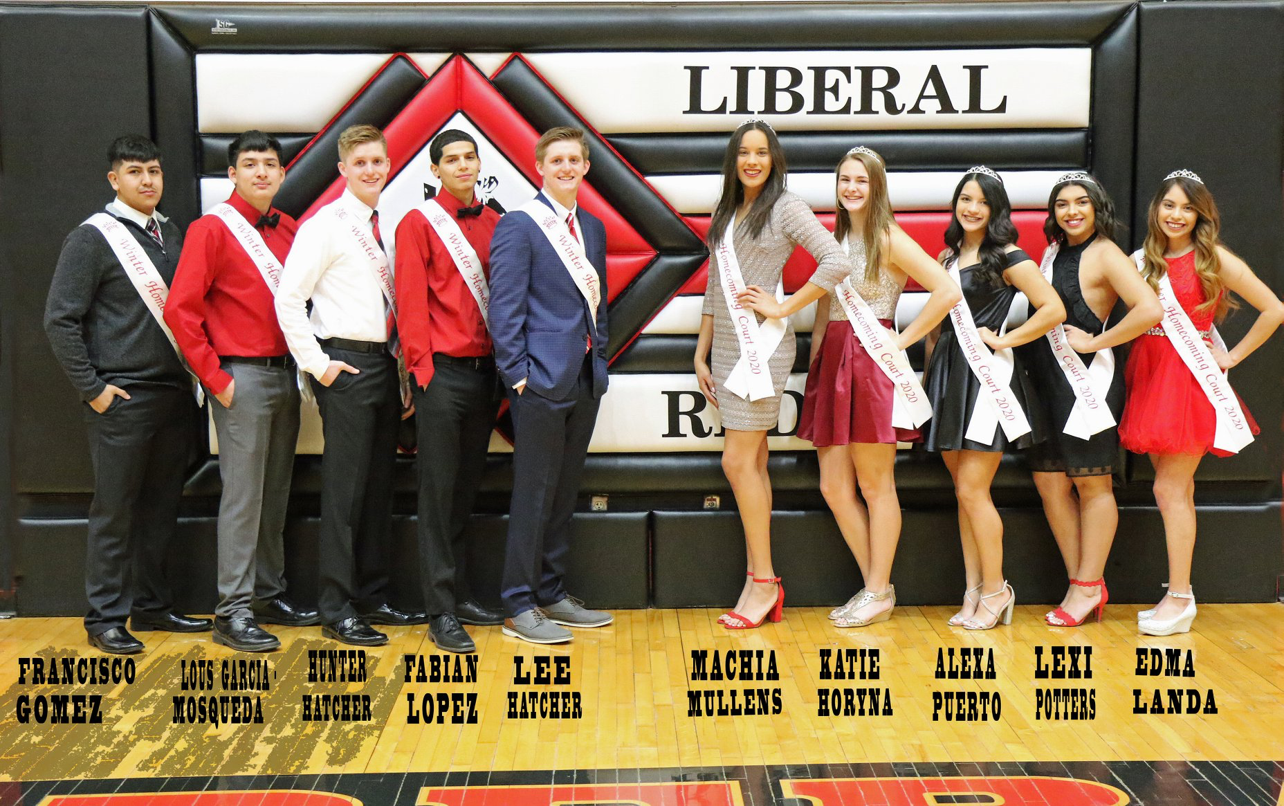 Francisco Gomez and Edma Landa Win Homecoming