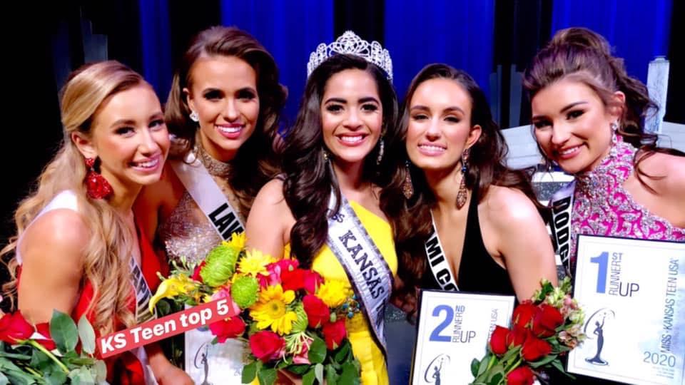 "SCCC Student Cyara Heredia, Claims Crown as ""Miss Teen Kansas"""