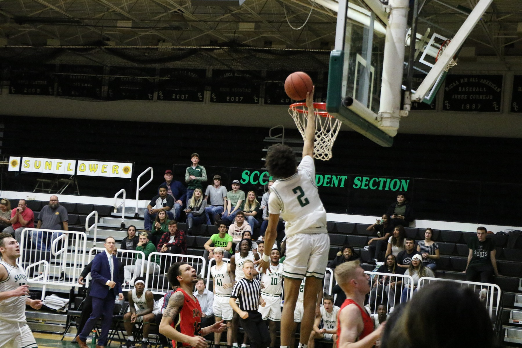 Saints Roll to Victory Over Northwest Tech