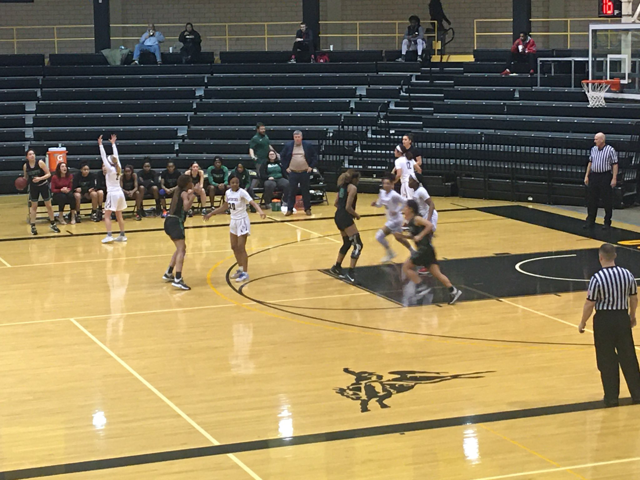 Lady Saint Offense Clicks at Northwest Tech