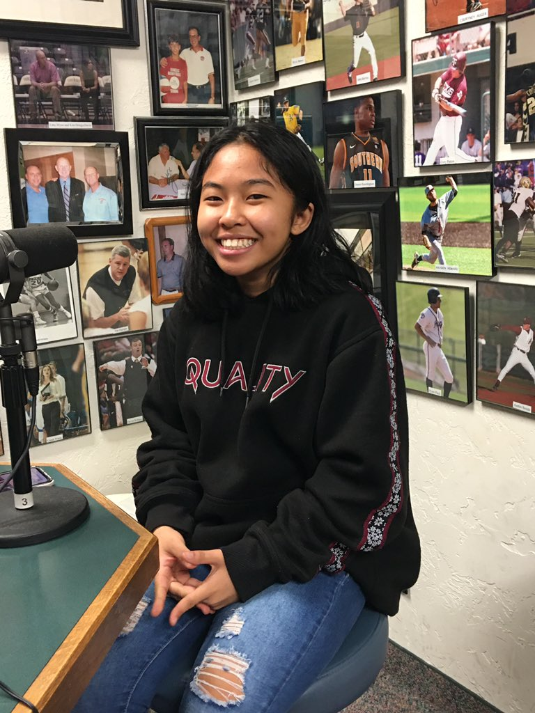 Mana Chanthasone is Hay Rice and Associates Athlete of the Week