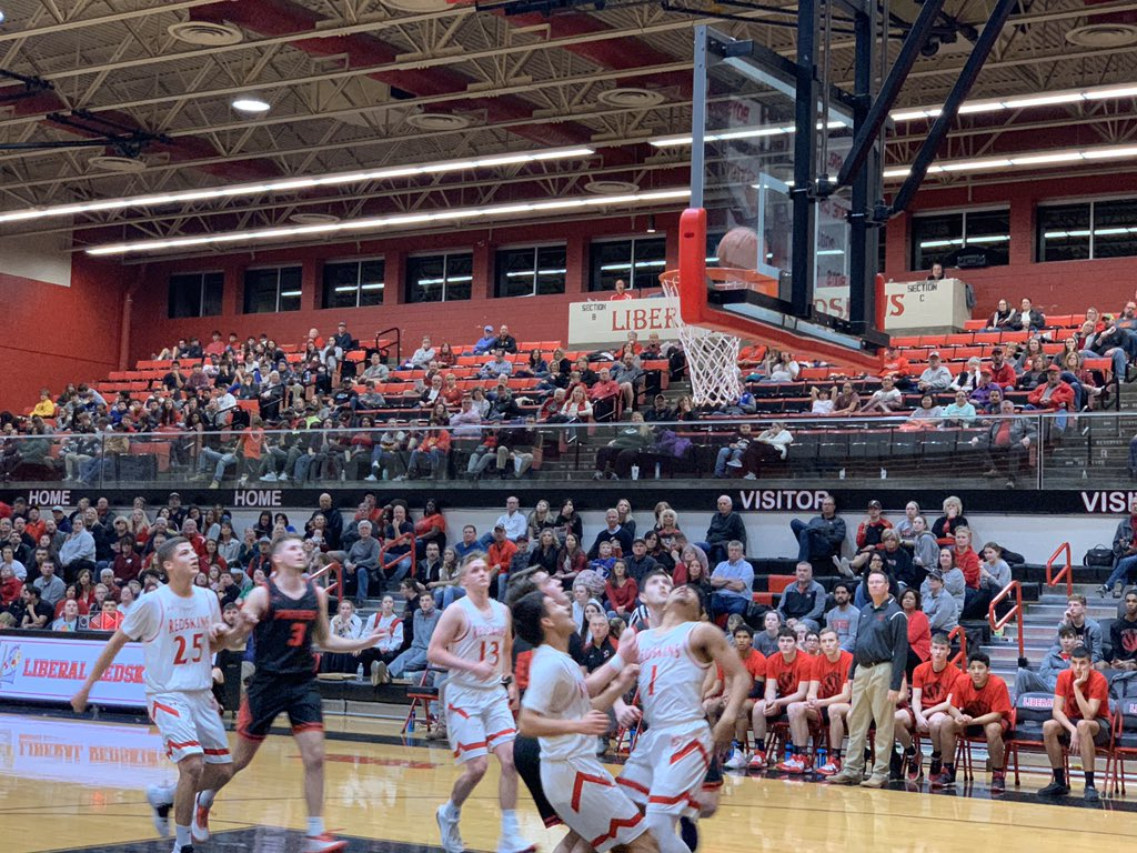 Redskins Can't Keep Up with Hot Shooting Great Bend