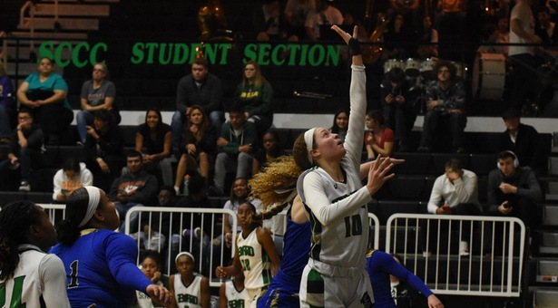 Lady Saints Hold Off Lady Cougars