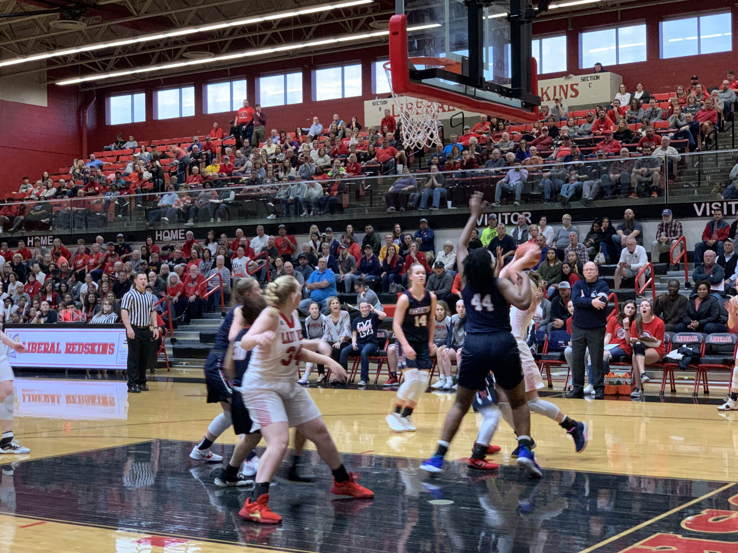 Lady Redskins March Past Manhattan for Third Straight Trip to State