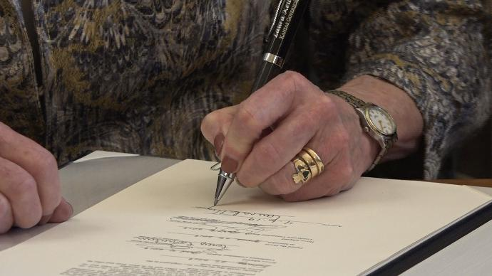Governor Laura Kelly Signed Three Bipartisan Bills into Law in Response to the COVID-19 Pandemic.