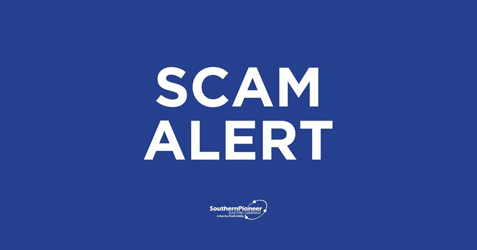 Southern Pioneer Electric Warns of Scam