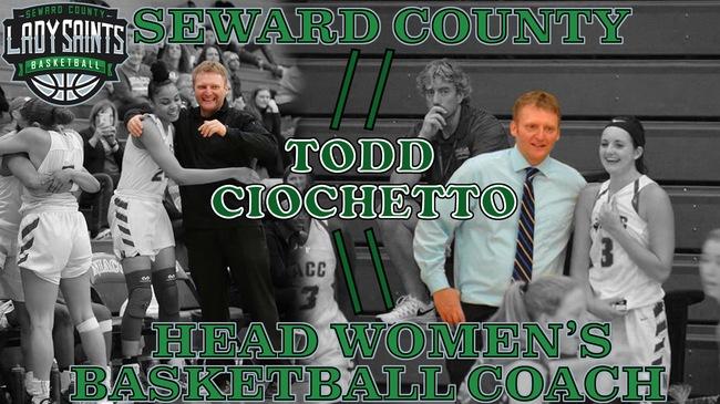 Todd Ciochetto Named Lady Saint Coach