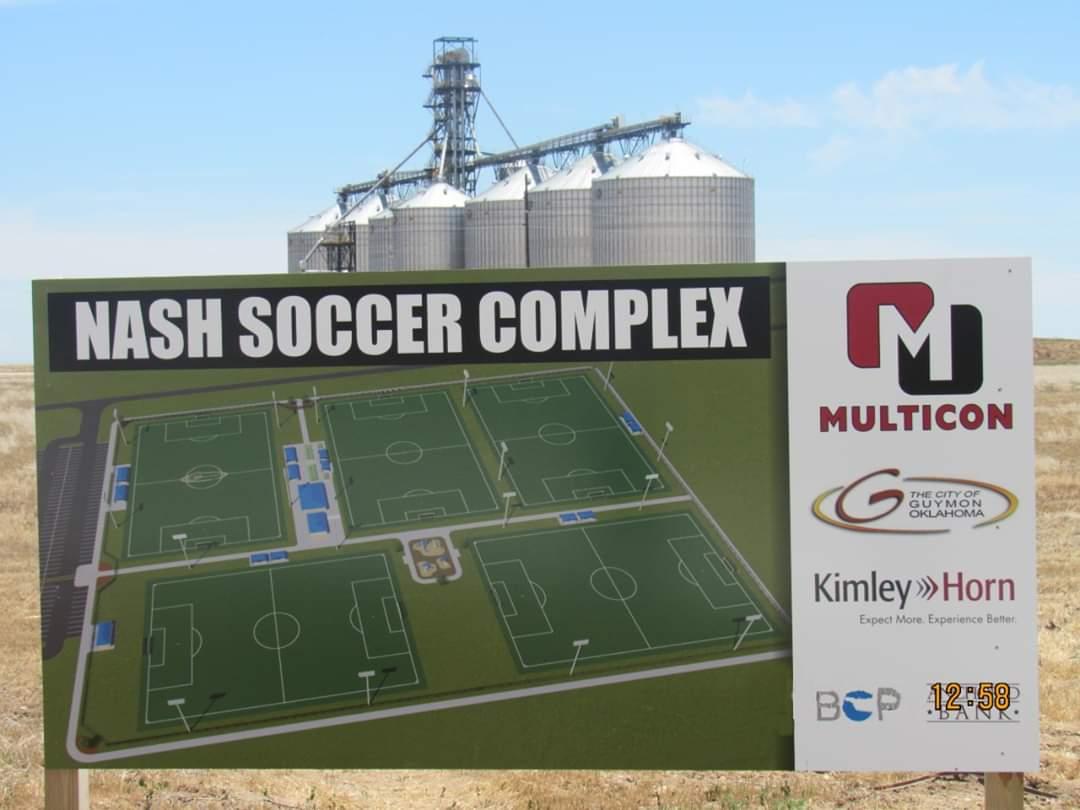 City of Guymon Breaks Ground on New Soccer Complex