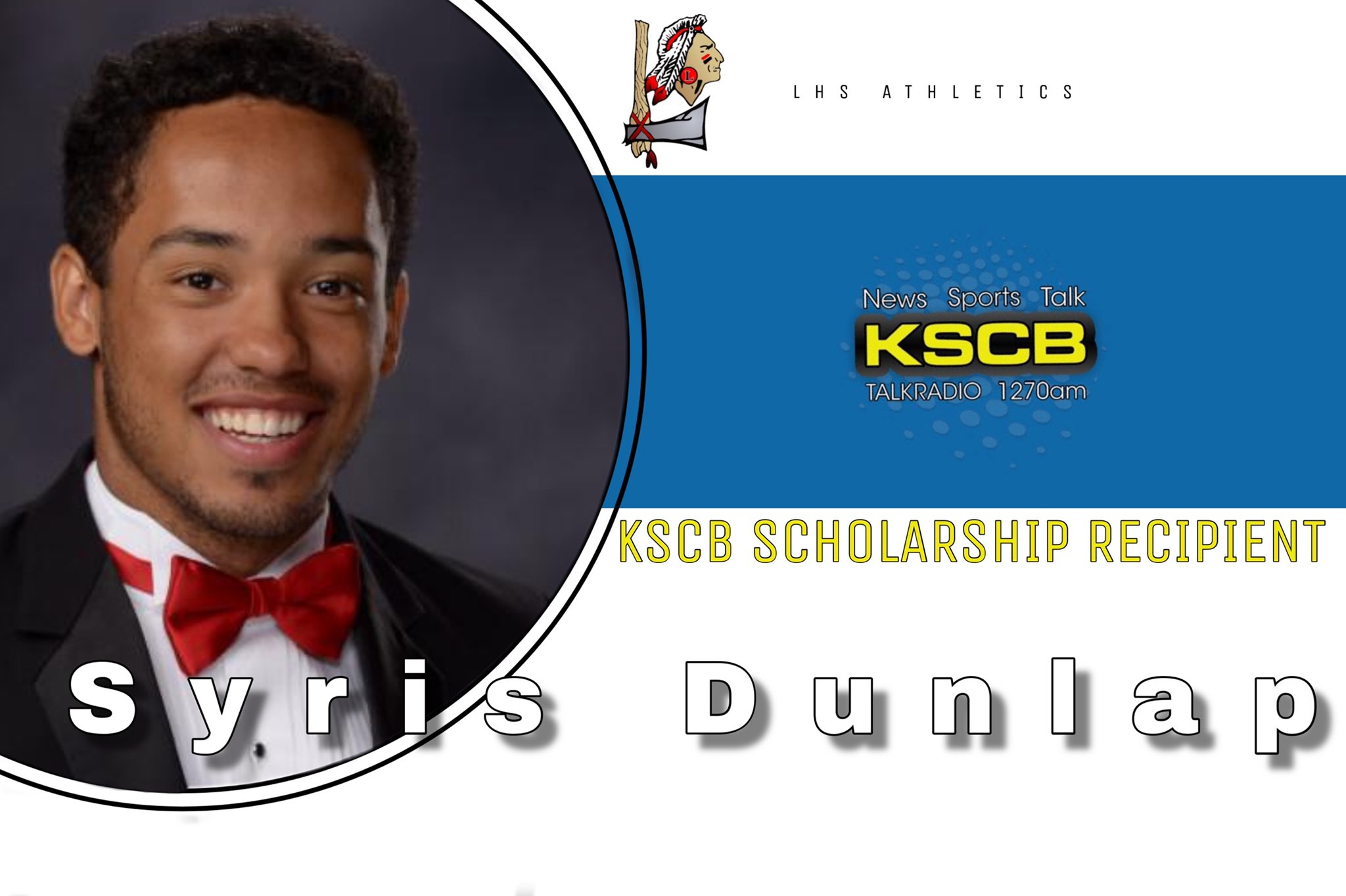 Syris Dunlap Wins KSCB Scholarship
