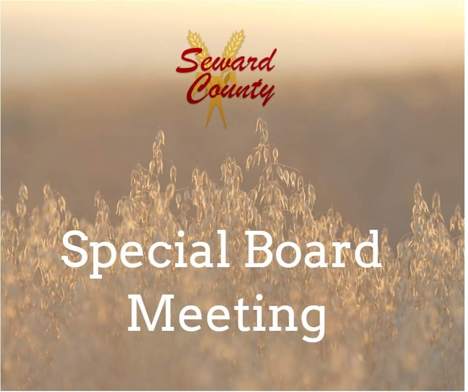 Seward County Commission to Hold Special Meeting