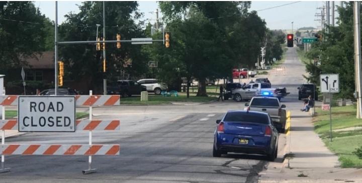 Officer Shot in Cimarron
