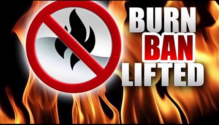 Texas County Burn Ban Rescinded, for Now