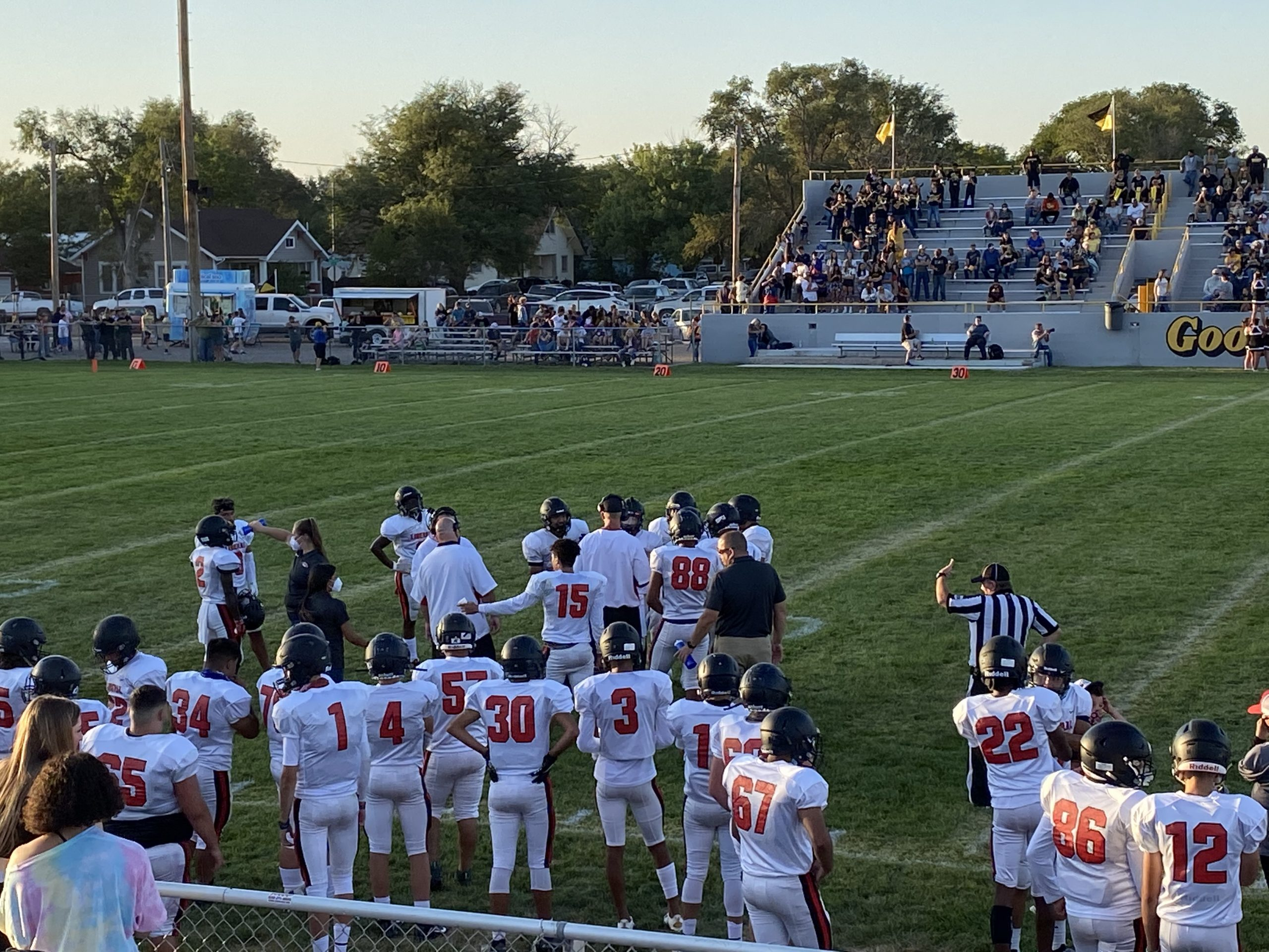 Redskins Drop Opener in Goodland