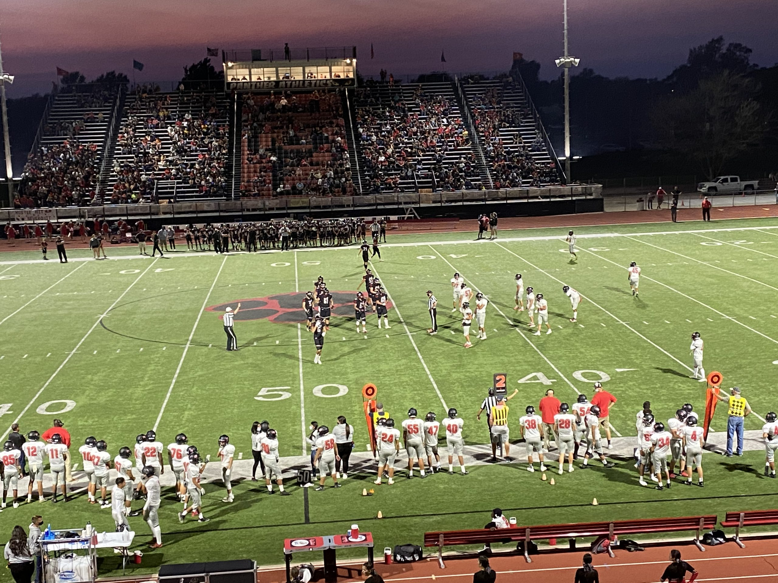 Friday's Scores, and Game Audio of Ingalls at Satanta